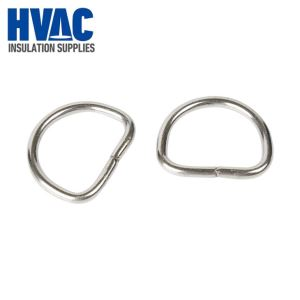 1'' Stainless Steel Welded D Rings