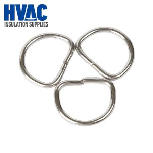 2'' Stainless Steel Welded D Rings